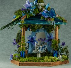 Beautiful stunning fairy houses to see in this site, just follow the link