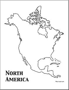 Community Badge - North America Coloring Page | Free North ...