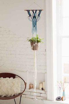 Rachel Miller Macrame Hanging Planter
