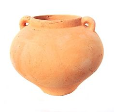 Special Offers - Newly Designed Heavy Hand Pressed Ancient Stressed Terra Cotta Round Flower Pot or Planter with Loop Handles Forming a Water Jug Weighs 5.95 pounds - In stock & Free Shipping. You can save more money! Check It (June 23 2016 at 02:32AM) >> http://herbgardenplanters.net/newly-designed-heavy-hand-pressed-ancient-stressed-terra-cotta-round-flower-pot-or-planter-with-loop-handles-forming-a-water-jug-weighs-5-95-pounds/