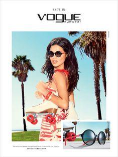 Vogue Eyewear Spring Summer 2016 - Adriana Lima - Ellen von Unwerth