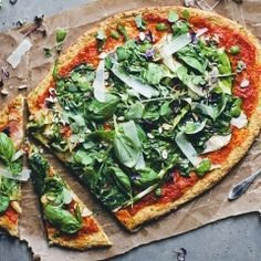 Recipe: Cauliflower Base Pizza - We've discovered a healthy pizza alternative that doesn't sacrifice on taste.