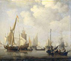 Willem van de Velde de Jonge - Windstilte
