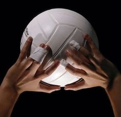 That's how you look when you live for volleyball.