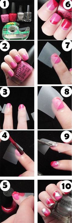 10-Easy-Red-Nail-Art-Tutorials-For-Beginners-Learners-2014-8