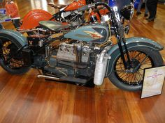 1935 Harley Davidson VL V8 By Head In The Hive On Flickr