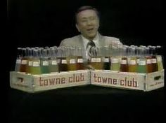 2 Detroit Classics... Sonny Eliot selling some delish *towne club* POP! Sonny was our favorite weather man for years.