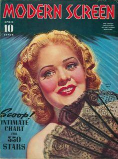 Modern Screen, April 1940 : Alice Faye