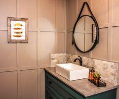 Restaurant bathroom makeover- mens and ladies looks