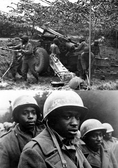 """The Wereth 11 Massacre"". The 333rd Field Artillery Battalion was a segregated African American unit. Firing in support of the retreating American infantry in Ardennes. The  Germans broke into their positions, shattering the 333rd Field Artillery Battalion, killing or capturing half of its men. On December 17, the SS men drove 11 POW into the forest. Savagely tortured them with rifle butts and bayonets before cutting off many of their fingers and running over them with vehicles. Paris In August, December 17, Master Sergeant, American Crew, War Image, National Archives, Still Standing, Library Of Congress, Vietnam War"