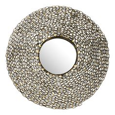 Chain Link Wall Mirror.