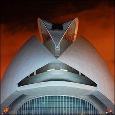 the opera..the opera By leuntje Valencia, Spain El Palau de les Arts Reina Sofia opera house