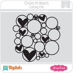 Circles N Hearts #pinkpaislee #scrapbooking #DIY
