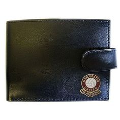 Football Club Wallets-Manchester United Football Club Genuine Leather Wallet Football Club Wallets. $20.99