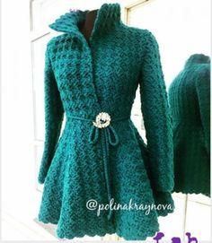 Crochet Princess Cardigan - Free Pattern + Tutorial