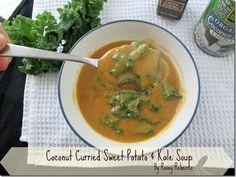 Coconut Curried Sweet Potato & Kale Soup « Rosey Rebecca