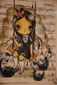 Image result for Tanja Thompson aka Misery NZ Artist Camille Rose Garcia, Misery Loves Company, Design Comics, Funky Art, Comic Character, Illustration Art, Illustrations, Cartoon Art, Dark Art