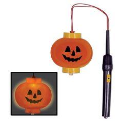 The Holiday Aisle Halloween Light-Up Pumpkin Lantern (Set of Light Up Pumpkins, Pumpkin Lights, Halloween Jack, Halloween Night, Halloween Pumpkins, Halloween Party Themes, Halloween Decorations, Halloween Candelabra, Halloween Lighting