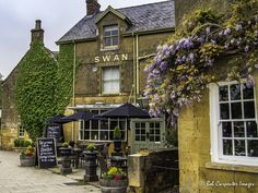 The Swan Hotel and Tavern is located on The Green in Broadway, England. The food and atmosphere is fantastic. Another is example of the beauty of the Cotswolds.