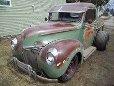 1940 Ford F1 Pick Up Maintenance of old vehicles: the material for new cogs/casters/gears could be cast polyamide which I (Cast polyamide) can produce