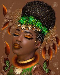 55 Ideas Fashion Black Art African Americans For 2019 Art Black Love, Black Girl Art, Art Girl, Black Girls, Black Women, Black Art Painting, Black Artwork, Painting Canvas, Canvas Art