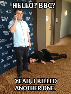 Steven Moffat & Matt Smith.....oh how I hate and love you moffat....