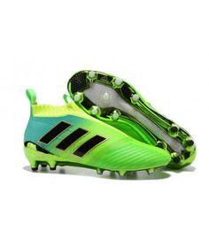 Adidas ACE 17 PureControl FG TIL FAST UNDERLAG GRESSgrønn Svart Blå