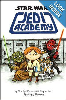 Star Wars: Jedi Academy: Jeffrey Brown: 9780545505178: Amazon.com: Books
