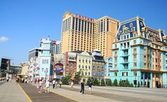 Atlantic City, NJ, may be known for its casinos, but its historic boardwalk is no gamble if you're looking for a great time by the sea. atlanticcitynj.com (From: 20 Most Awesome Boardwalks in America)