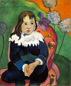 El colorido Gauguin...
