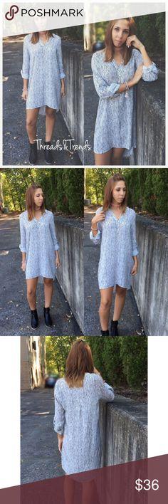 Black & White Striped Shirt Dress Size S,M,L  Small  Bust Length  Medium  Bust  Length  Large Bust Length Dresses