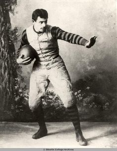 Former #Auburn Head Coach John Heisman Doing The Heisman Pose At Oberlin College.  . ~ Check this out too ~ RollTideWarEagle.com sports stories that inform and entertain and Train Deck to learn the rules of the game you love. #Collegefootball Let us know what you think.   #Auburn #WarEagle