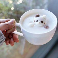 cat marshmallow by eliseaki