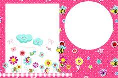 Jardim Encantado Rosa – Kit Completo com molduras para convites, rótulos para guloseimas, lembrancinhas e imagens!  Fazendo a Nossa Festa