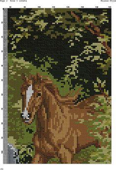 животные в свитерах схема вышивки