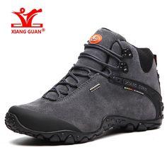 Trekking Shoes for Men and Women, Outdoor Waterproof Hiking Shoe, Walking Sports Winter Sneakers