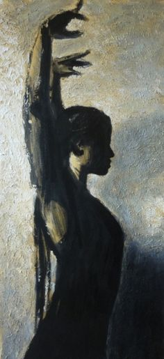 Portrait of flamenco dancer 'Eva Yerbabuena' by Spanish painter Alicia Murcia (b.1976). Acrylic. via stars portraits