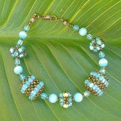 Beaded bead pattern