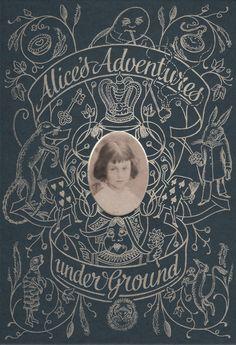 Alice's Adventures Underground folio