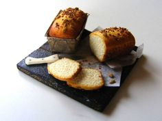 Breads with seeds on top - Miniature in 1:12 by Erzsébet Bodzás, IGMA Artisan
