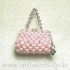 miniature pink purse! tutorial