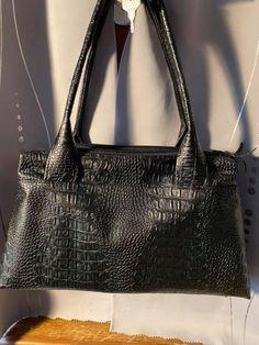 Sac City Zip-Zip en simili comodo noir cousu par Sandrine - Patron Sacôtin