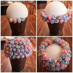 Lollipop Topiaries