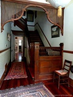 Im August war ich bei einer Familie in San Francisco, CA zu Gast. In deren Haus ist noch die originale Treppe von 1896 drin. Wenn wir mal davon ausgehen, dass sie in den letzten 117 Jahren 6 mal pro Tag begangen wurde, dann wurde sie insgesamt 256230 mal benutzt. Great stuff! Photo by www.smg-treppen.de #smgtreppen