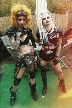 Post-Apocalyptic Shelly d'Inferno / cosplay / wasteland women / LARP / dystopia / Mad Max / inspiration
