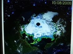 Hollow Earth Pictures of North Pole  CREDIT: Hollow Earth Theories