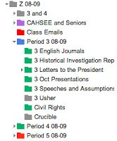 Tips for Organizing Google Drive: http://whatdoyouteach.blogspot.com/2013/07/how-do-you-organize-your-google-drive.html