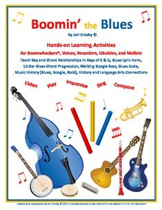 Boomin' the Blues: 12-bar Blues for Boomwhackers, Voice, U
