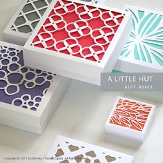gift boxes!!