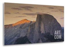 Half Dome at Sunset in Yosemite National Park in California's Sierra Nevada Mountain Range Photographic Print by Sergio Ballivian at Art.com